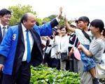 Thủ tướng đọc ca dao khi dự Lễ hội hoa sen Nhật - Việt