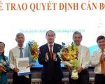 Trao quyết định phê chuẩn kết quả bầu hai phó chủ tịch UBND TP.HCM