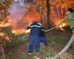 Trắng đêm dập lửa, cơ bản đã khống chế các điểm cháy rừng ở Hà Tĩnh