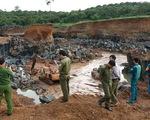 Phát hiện vụ khai thác đá trái phép