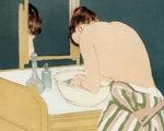 Những phụ nữ đang tắm