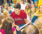 Novak Djokovic: nhà vô địch của trẻ mẫu giáo