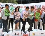 Thương chiến leo thang, người Hàn kêu gọi tẩy chay hàng Nhật