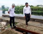 Cho dân trồng tạm cây dọc kênh Tham Lương để ngăn xả rác, tệ nạn