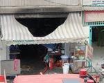 Cháy nổ bình gas tại quán cơm, 2 người bị thương