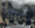 Cháy xưởng hoạt hình Nhật nghi do phóng hỏa, ít nhất 13 người chết