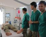 Việt Nam làm bệnh viện dã chiến không rác thải nhựa đưa sang Nam Sudan