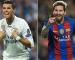 Ronaldo, Messi trong top 10