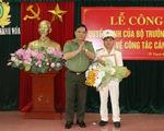 Bộ Công an bổ nhiệm Trưởng công an TP Thanh Hóa