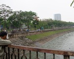 Xả nước ra sông Tô Lịch không ảnh hưởng thử nghiệm xử lý ô nhiễm