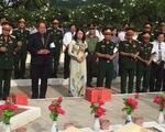 Truy điệu và cải táng hài cốt liệt sĩ quân tình nguyện Việt Nam