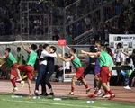 CLB TP.HCM tiếp tục dẫn đầu V-League nhờ bàn gỡ hòa ở phút 90+7