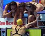 Lật đổ Mỹ, đội bơi tiếp sức Úc phá luôn kỷ lục của Trung Quốc