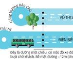 TP.HCM bố trí làn xe buýt ưu tiên ra sao?