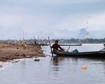 Rùng mình nhìn sông Mekong cạn nước