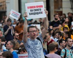 Nga bắt cả ngàn người biểu tình phản đối chính phủ