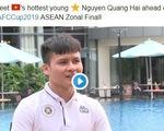 AFC gọi tiền vệ Nguyễn Quang Hải là