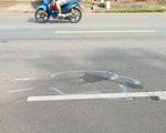 Nghi vấn một CSGT lái xe hơi tông xe máy làm chết người, bỏ chạy
