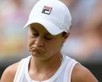 """""""Địa chấn"""" Wimbledon 2019, tay vợt nữ số 1 thế giới Ashleigh Barty bị loại"""