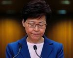 Lãnh đạo Hong Kong Carrie Lam thông báo dự luật dẫn độ