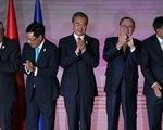 Ngoại trưởng Việt Nam cùng ASEAN và Trung Quốc nói chuyện Biển Đông