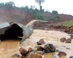 Van thủy điện Đắk Kar bị kẹt đã sửa xong, lên xuống được