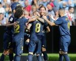 Modric bị thẻ đỏ, Real Madrid vẫn thắng tưng bừng trên sân Celta Vigo