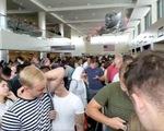 Trục trặc máy tính, hàng ngàn khách kẹt lại tại các sân bay Mỹ