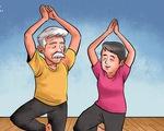 Nhờ yoga, thiền, ba tôi giã từ kiếp