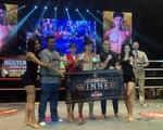 Thua giải Muay thế giới, võ sĩ Nguyễn Trần Duy Nhất thắng ở giải chuyên nghiệp