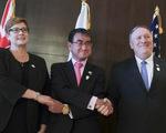 Mỹ - Nhật - Úc lên án hành vi cản trở khai thác dầu khí ở Biển Đông