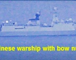 Philippines sẽ lên tiếng về tàu chiến Trung Quốc trong lãnh hải của mình