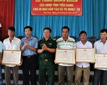 Khen thưởng 9 thuyền viên cứu nạn 22 ngư dân Philippines