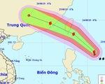 Bão gần Biển Đông đang mạnh lên, Bắc Bộ, Bắc Trung Bộ mưa dông