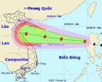 Bão Podul vào Biển Đông, có thể đổ bộ Thanh Hóa - Quảng Bình