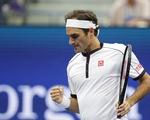 Federer ngược dòng vào vòng 3 Giải Mỹ mở rộng