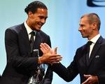 Vượt mặt Messi và Ronaldo, Van Dijk đoạt danh hiệu