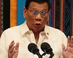 Ông Duterte nói 'không bao giờ' cho Mỹ triển khai hạt nhân tại Philippines