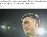 Thủ môn Văn Lâm được Muangthong United ca ngợi là biểu tượng