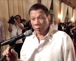 Tổng thống Duterte tuyên bố không chấp nhận Trung Quốc sở hữu Biển Đông