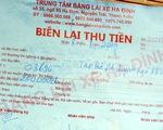 Chiêu làm tiền từ dịch vụ đổi giấy phép lái xe