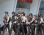 Indonesia đem xe bọc thép đến sân Bung Karno trước trận gặp Thái Lan