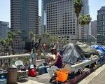 Ông Trump quyết dọn dẹp người vô gia cư ở California
