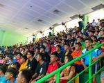 Cả ngàn khán giả xem trận đấu futsal giữa Thái Sơn Nam và Sahako