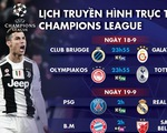 Lịch trực tiếp Champions League 19-9: Đại chiến PSG- Real Madrid