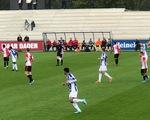Văn Hậu đá chính với đội trẻ Heerenveen