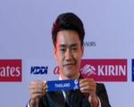 Đội trưởng U23 Thái được khen đẹp trai vì... bốc thăm