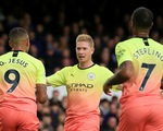 Khuất phục Everton, M.C tiếp tục bám đuổi Liverpool
