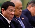 Ông Duterte không hài lòng khi ông Tập nói Biển Đông là