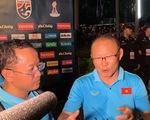 Họp báo riêng với phóng viên Việt Nam, HLV Park Hang Seo: